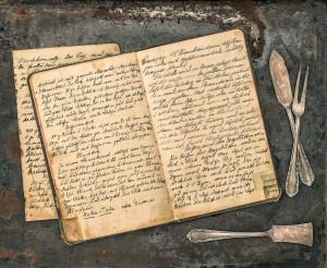 Kokbok med recept, regler, villkor